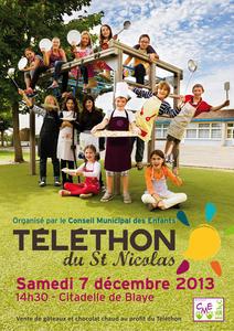 telethon saint nicolas samedi 7 decembre
