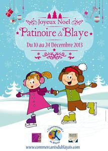 patinoire blaye du 10 au 24 décembre