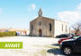 amenagement abords eglise sainte luce avant